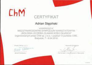 certyfikat bialystok