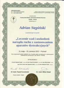 certyfikat ilizar