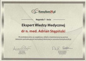 certyfikat konsylium
