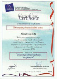 certyfikat usg