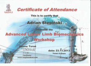 certyfikat vasyli advanced