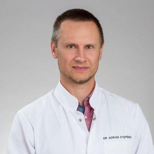 Dr Adrian Stępiński