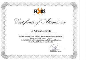 Certyfikat Flexus